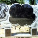 Надгробие в виде облака