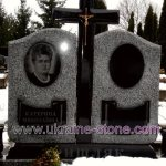 двойные надгробные памятники