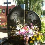 двойные надгробные памятники фото