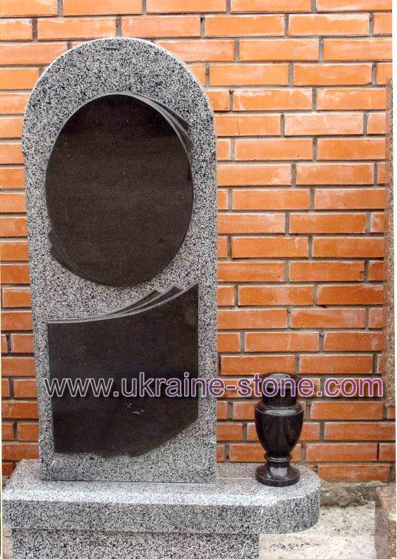 Одинарный памятник из гранита
