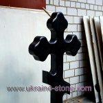 Гранитный крест на могилу цена
