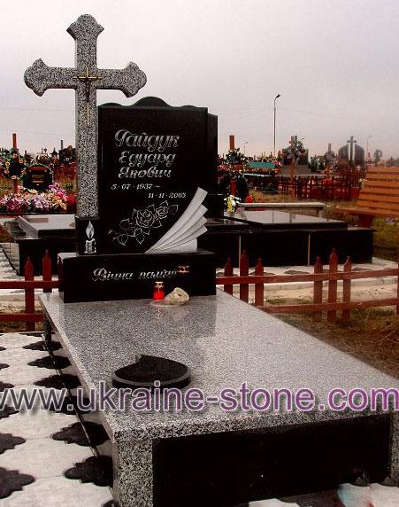 Гранитный памятник с крестом цена