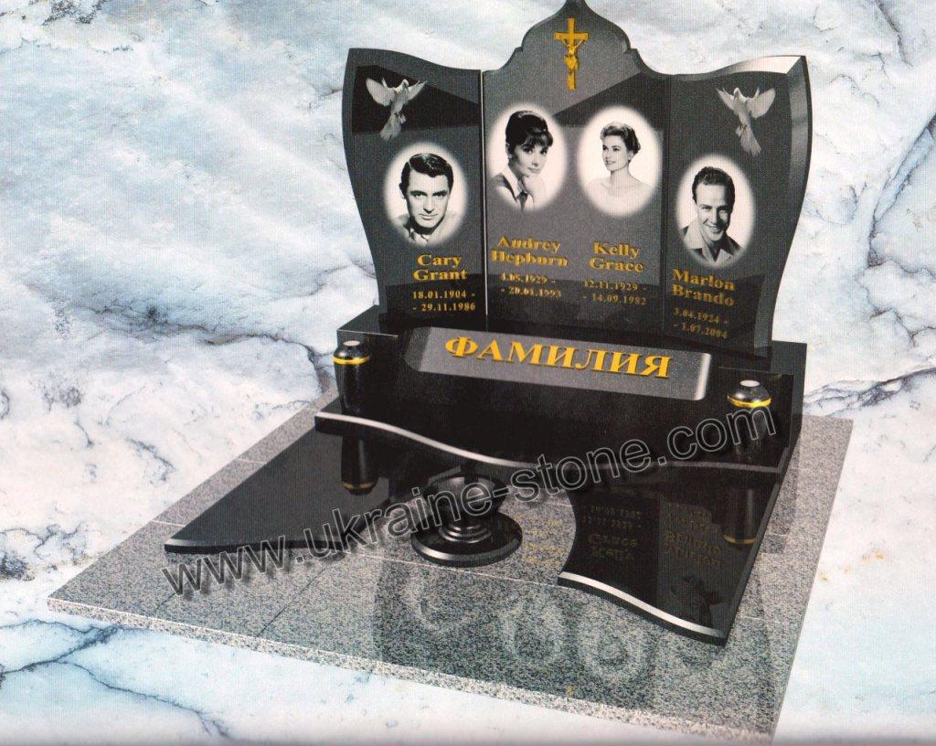 Памятник на могилу семье